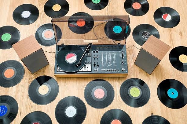 altavoces para tocadiscos de vinilo