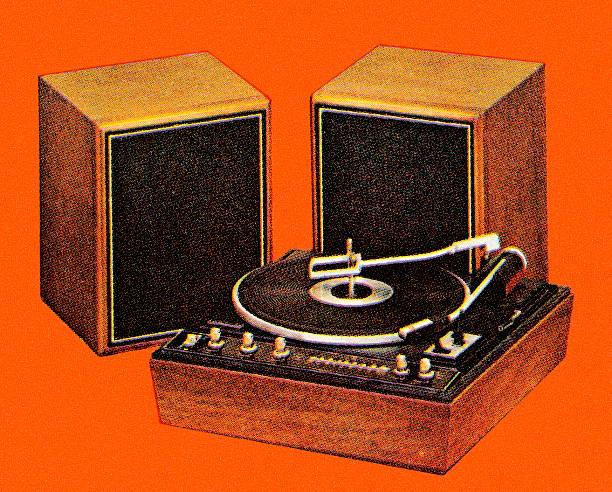 altavoces para tocadiscos clásico
