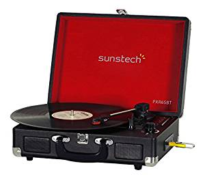 tocadiscos sunstech pxr6sbtbk comprar amazon