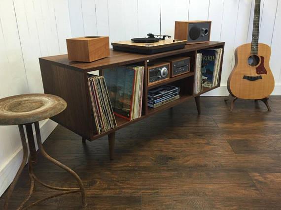 mueble tocadiscos instrumentos musicales