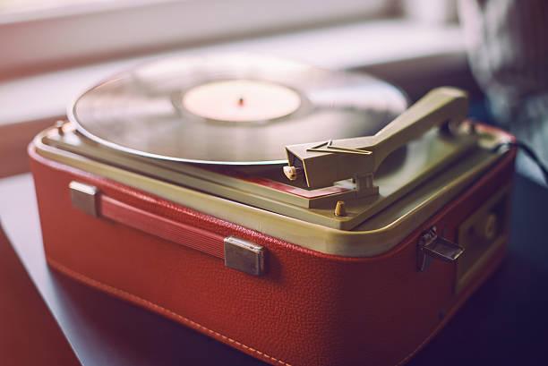 tocadiscos antiguos vintage maleta