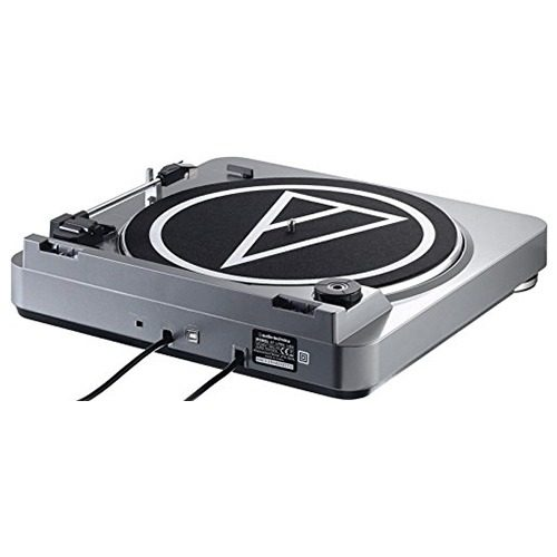 tocadiscos audio technica modelo at-lp60 con usb color negro