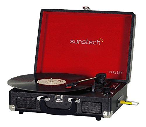 tocadiscos bluetooth sunstech