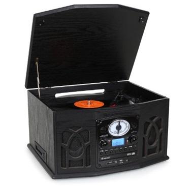 tocadiscos con cd auna nr-620