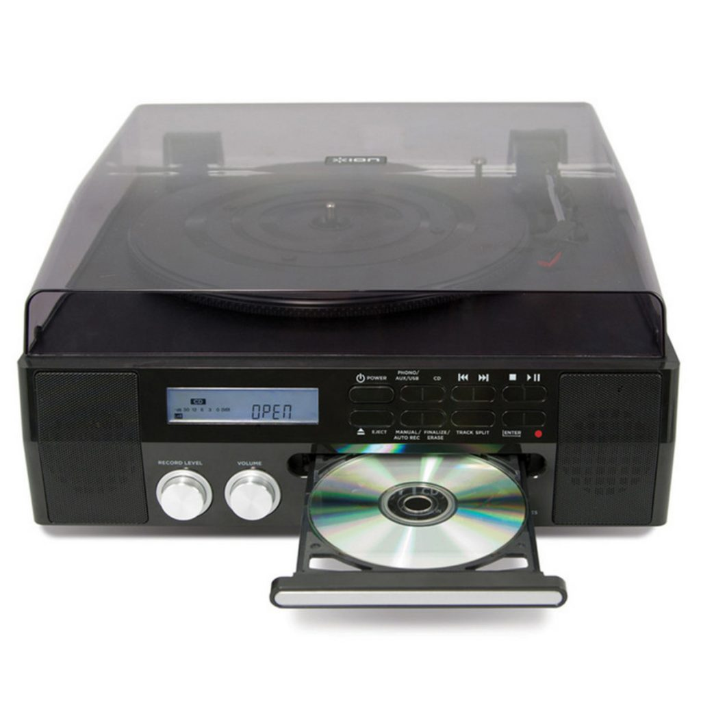 tocadiscos con cd aspecto