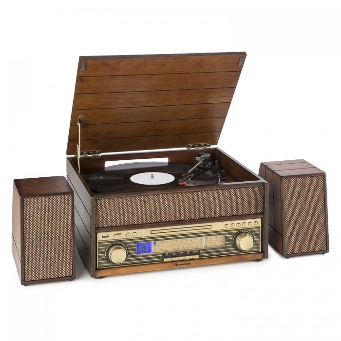 tocadiscos con cd auna epoque 1909