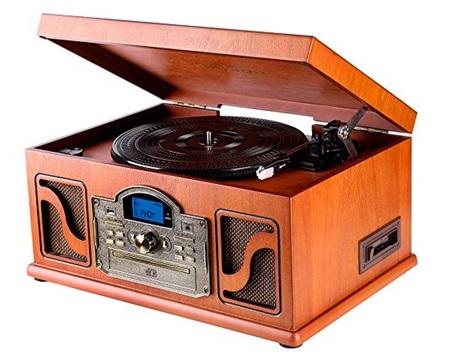 tocadiscos con cd lauson cl146
