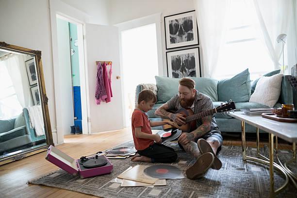 tocadiscos crosley padre e hijo