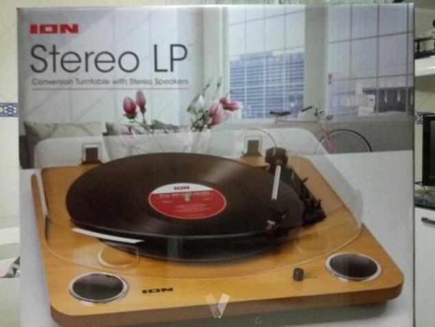 tocadiscos ion audio estéreo