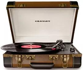 tocadiscos crosley maleta modelo cr6019a-bleu comprar amazon