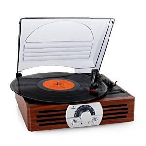 comprar amazon tocadiscos modernos auna tt-83n