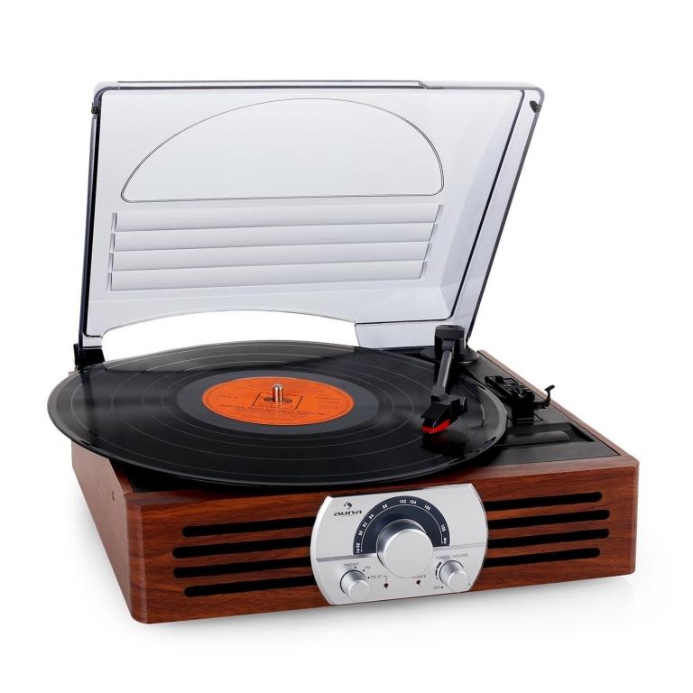 tocadiscos modernos auna tt83n