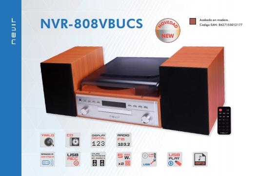 tocadiscos nevir nvr-808vbucs