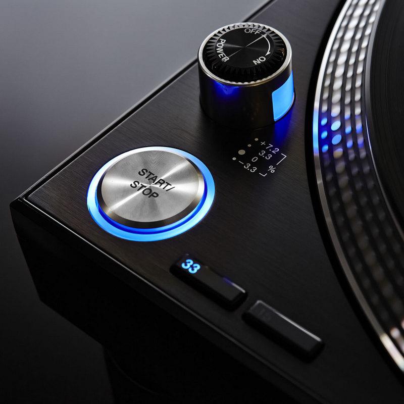 tocadiscos pioneer plx-1000 funciones botón