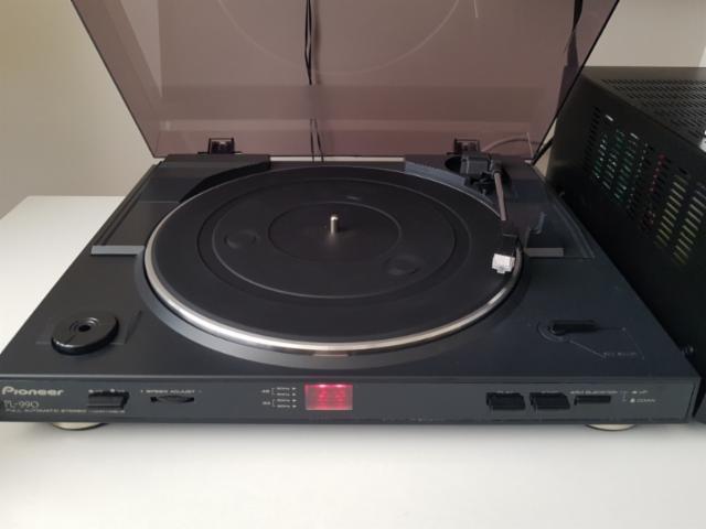 tocadiscos pioneer pl990 aspecto