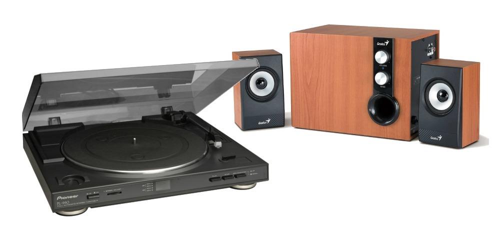 tocadiscos pioneer pl990 altavoces
