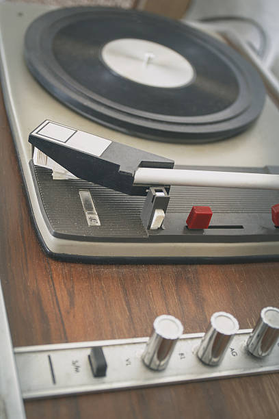 tocadiscos retro vinilo disco