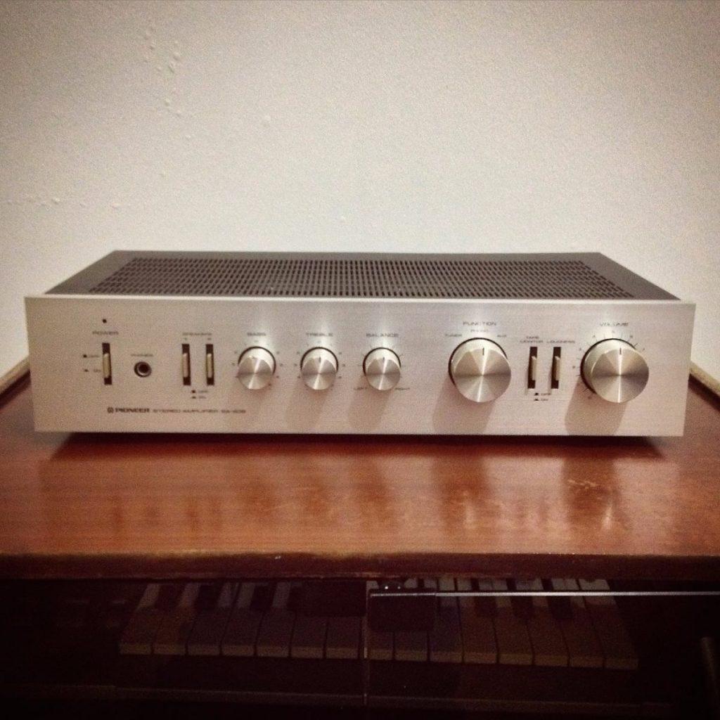 tocadiscos segunda mano amplificador pioneer sa 408