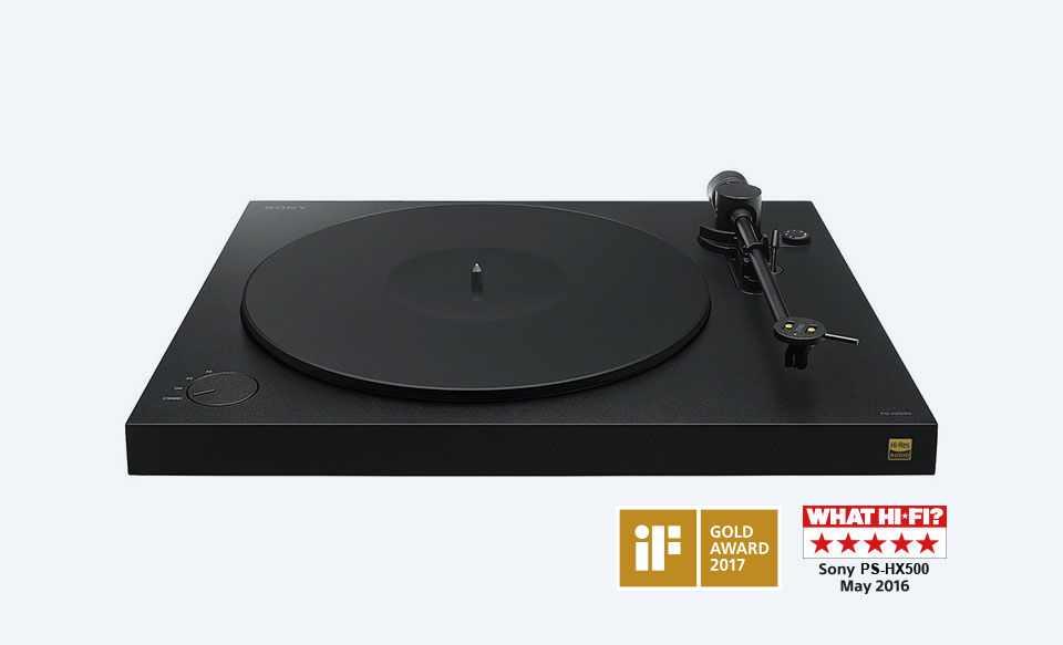 tocadiscos sony pshx500 award