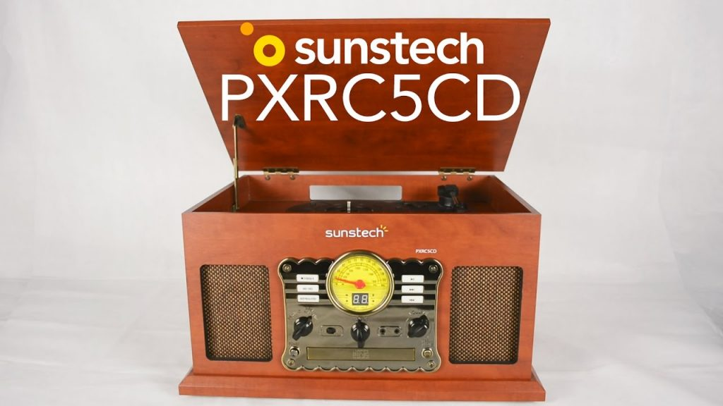 tocadiscos sunstech pxrc5cd