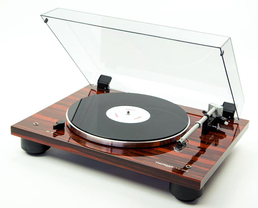 tocadiscos thorens modelo td 206