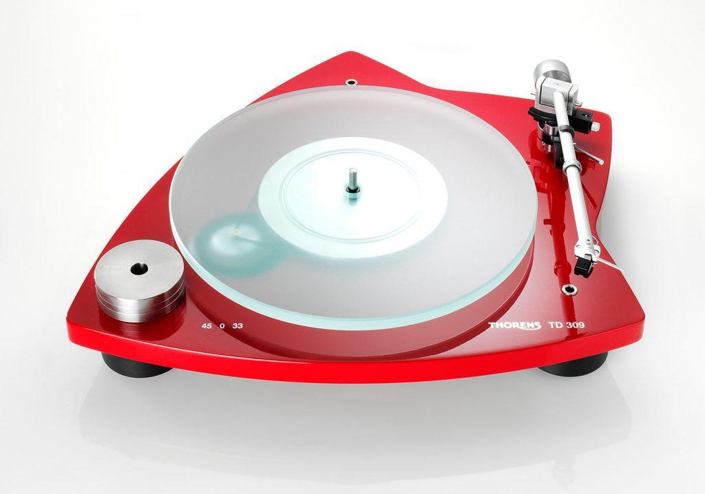 tocadiscos thorens modelo td 309 original