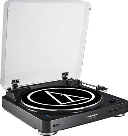 tocadiscos vinilo audio-technica lp60bt bk