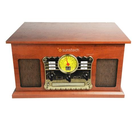 tocadiscos vintage sunstech pxrc5cdwd