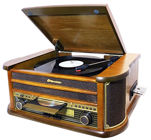 tocadiscos vintage roadstar hif-1899 tumpk