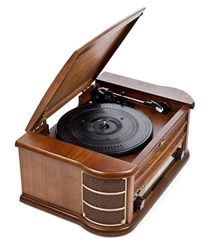 tocadiscos vintage dual nr4 nostalgie