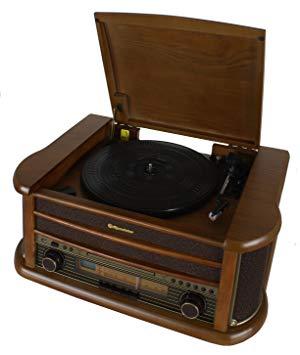 tocadiscos vintage comprar amazon roadstar hif-1899/tumpk