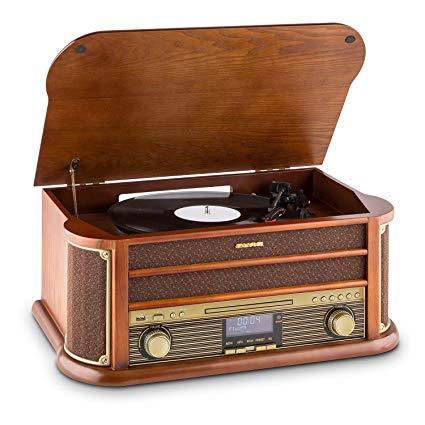 tocadiscos vintage comprar amazon auna belle epoque 1908