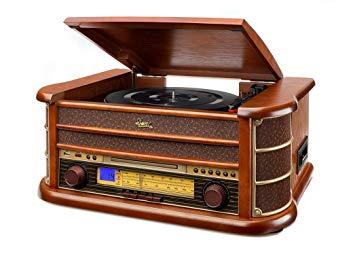 comprar amazon tocadiscos vintage dual nr 4 nostalgie